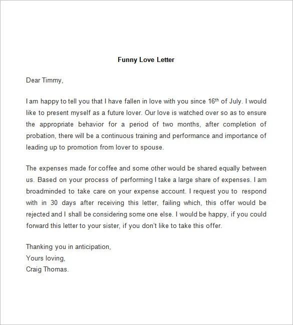 love letter template - Onwebioinnovate - love letter format sample