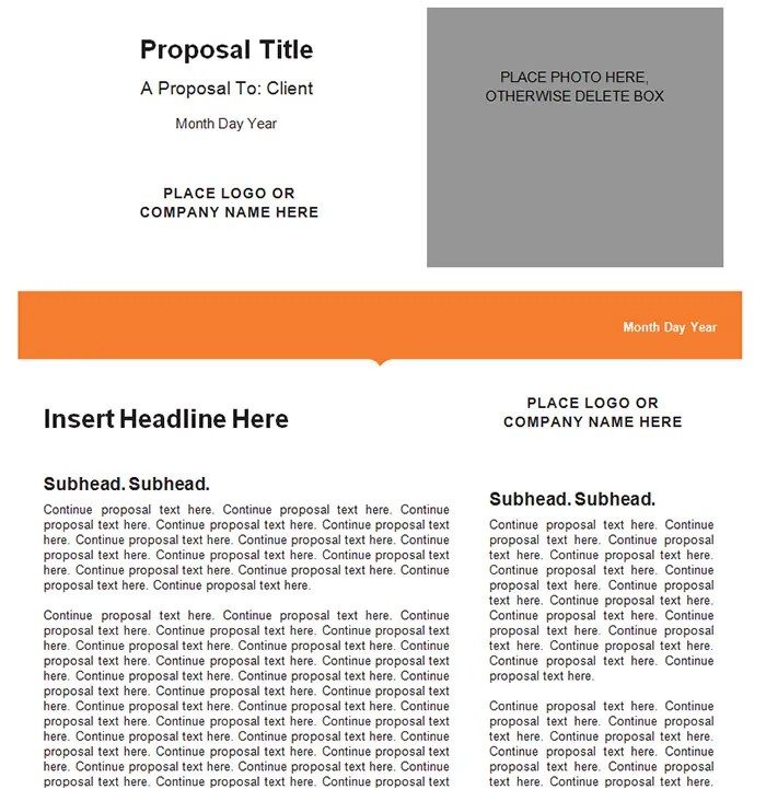 34+ Best Marketing Proposal Templates  Samples Free  Premium