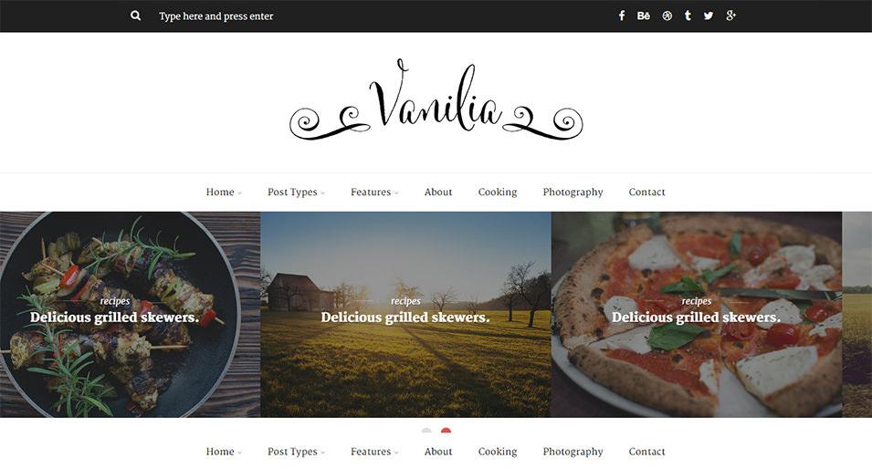 Html 5 Blog Website Templates  Themes Free  Premium Free