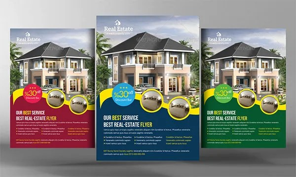 Real Estate Flyer Template - 27+ Free PSD, AI, Vector EPS Format