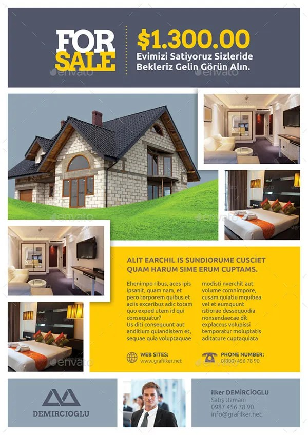 32+ Real Estate Flyer Templates - PSD, Word, AI, EPS Vector Formats