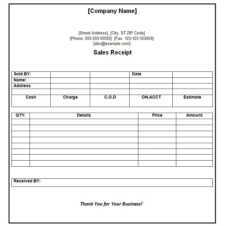 received payment receipt format - Romeolandinez - money receipt template