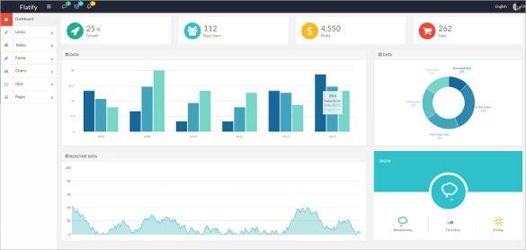 49+ Bootstrap Dashboard Themes  Templates Free  Premium Templates