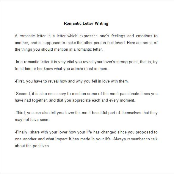sample love letters for him - Onwebioinnovate
