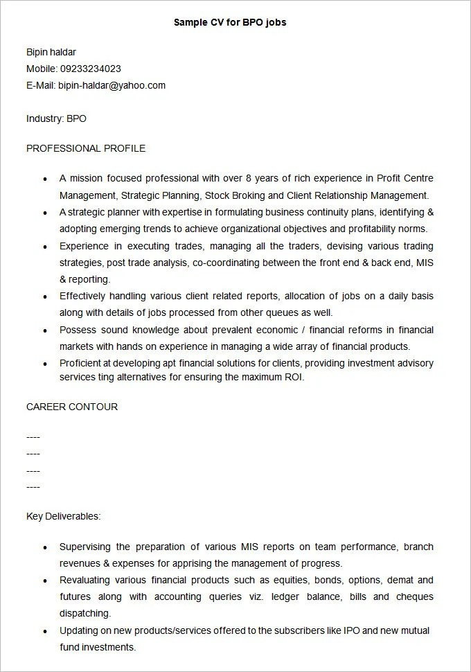 Professional Resume Template u2013 52+ Free Samples, Examples, Format - resume examples for professional jobs