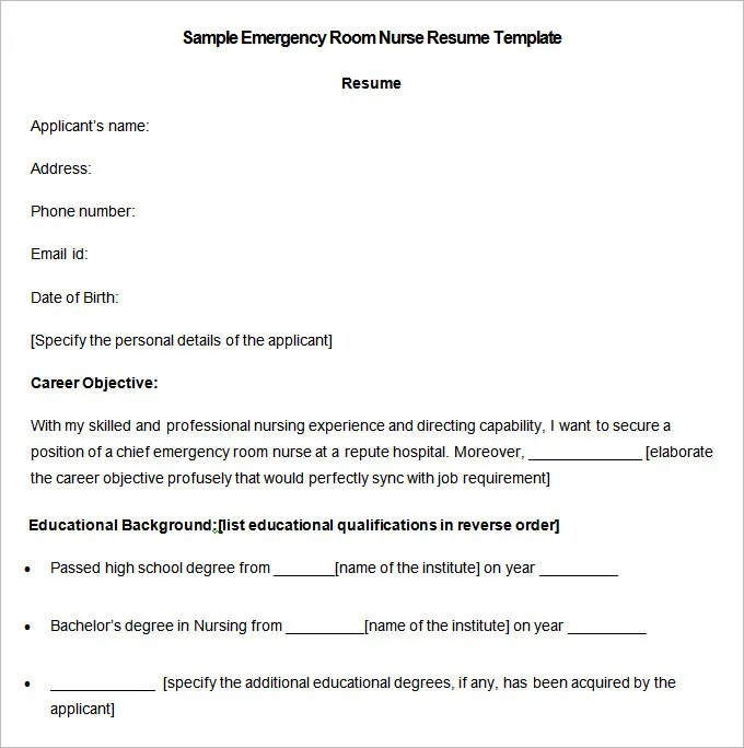 Lpn Resume Sample Licensed Practical Nurse Resume Sample Nursing Resume Template – 9 Free Samples Examples