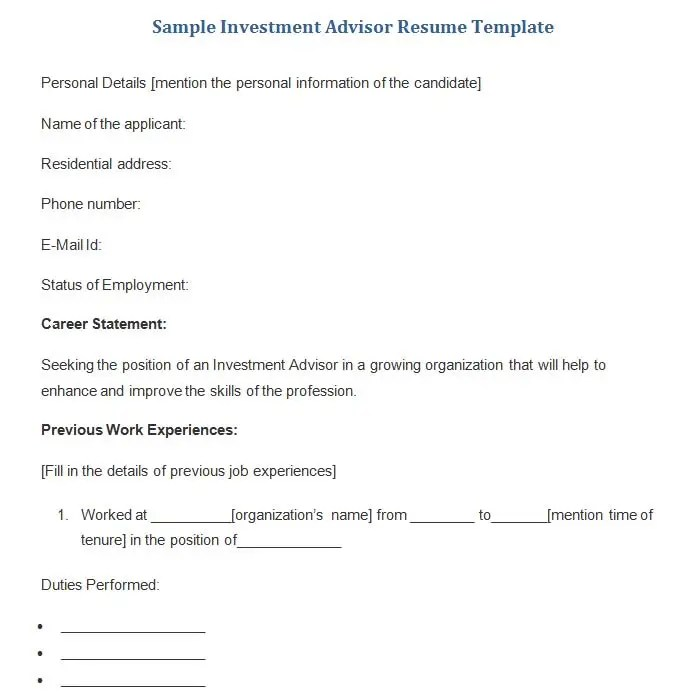 19+ Sample Banking Resume Templates - PDF, DOC Free  Premium