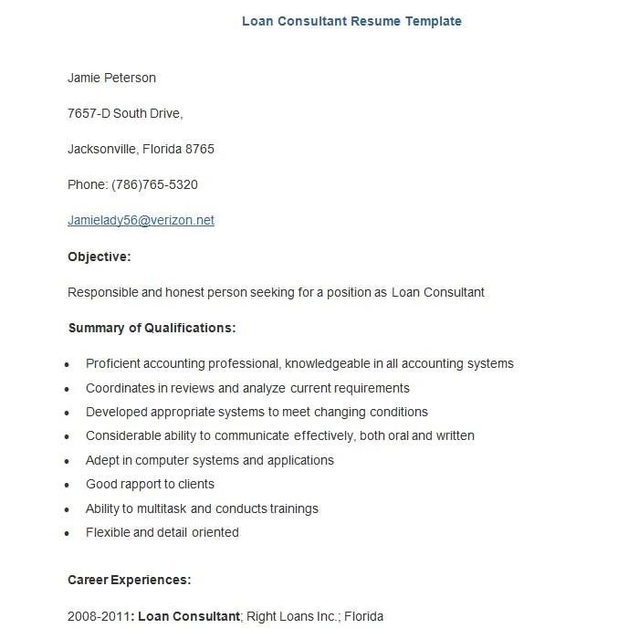 22+ Sample Banking Resume Templates - PDF, DOC Free  Premium - mortgage consultant sample resume