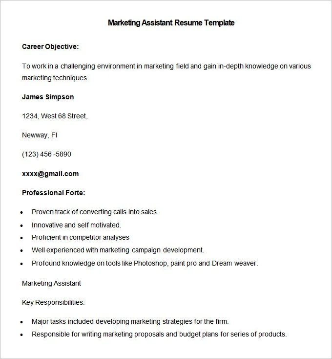 Resume Templates \u2013 127+ Free Samples, Examples  Format Download - resume templates examples