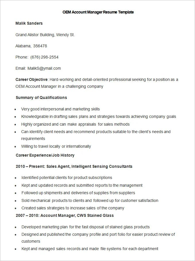 Manufacturing Resume Template \u2013 26+ Free Samples, Examples, Format - sample resume manufacturing