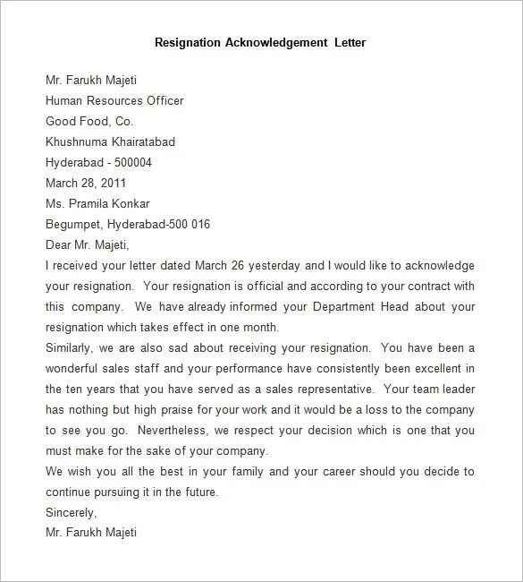 19 Email Resignation Letter Templates Free Sample Resignation Letter Template 25 Free Word Pdf Documents