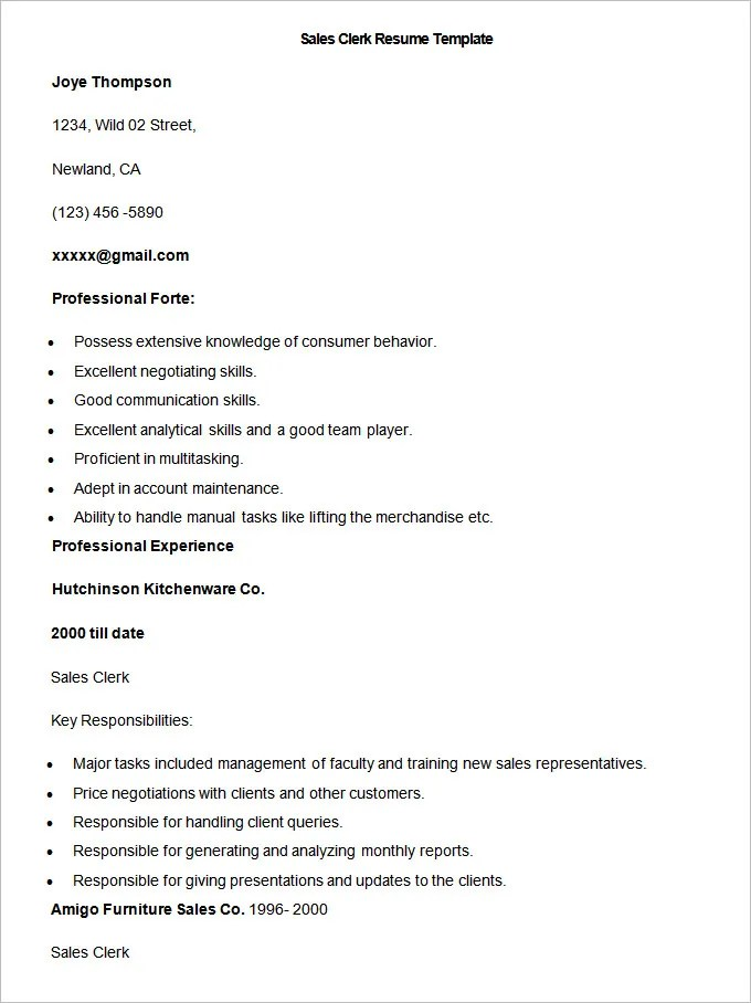 Original Essay Writing Service - Jay Fencing sample resume for store