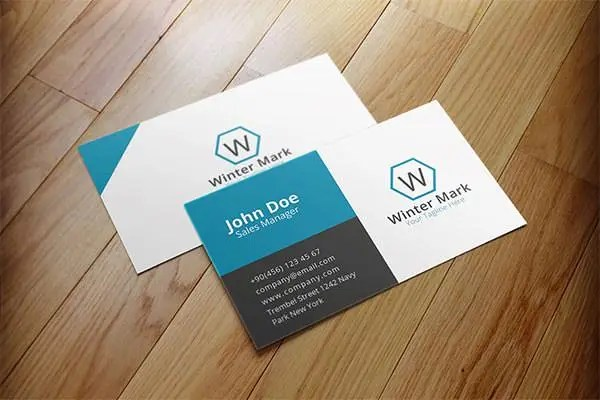 52 Best Corporate Business Card Templates Free \ Premium Templates - business card sample