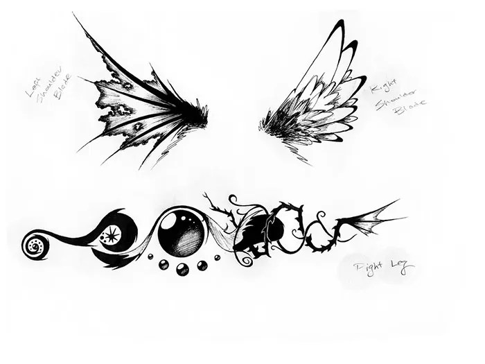50+ Amazing Fine Art Tattoo Designs for Your Inspiration Free - tattoo template