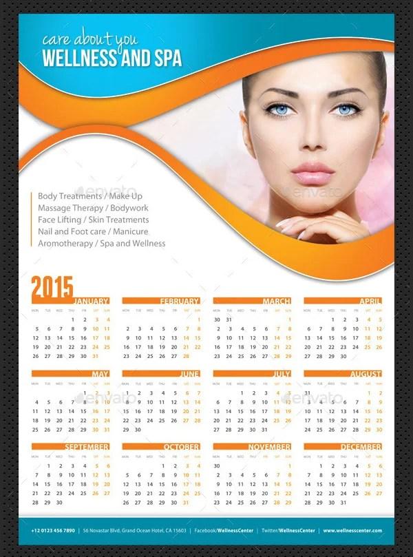 25+ Best 2016 Calendar Templates to Print Free  Premium Templates - calendar sample design