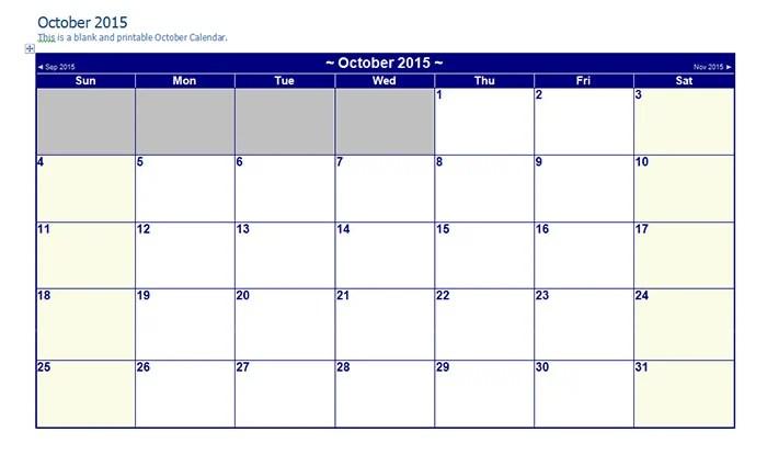24+ Best Editable Calendar Templates  2019 Designs Free  Premium