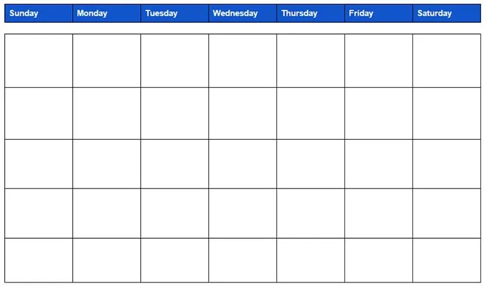 15+ Best Google Calendar Templates - Free PSD, Vector EPS, PNG