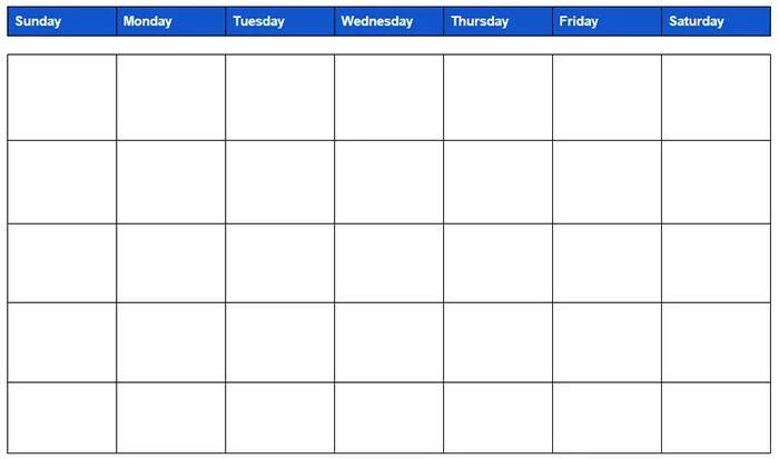 calendar google sheets template