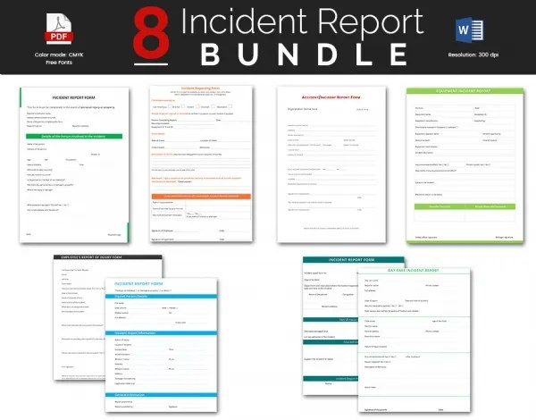 18+ Incident Report Templates - Free Sample, Example, Format - it report template