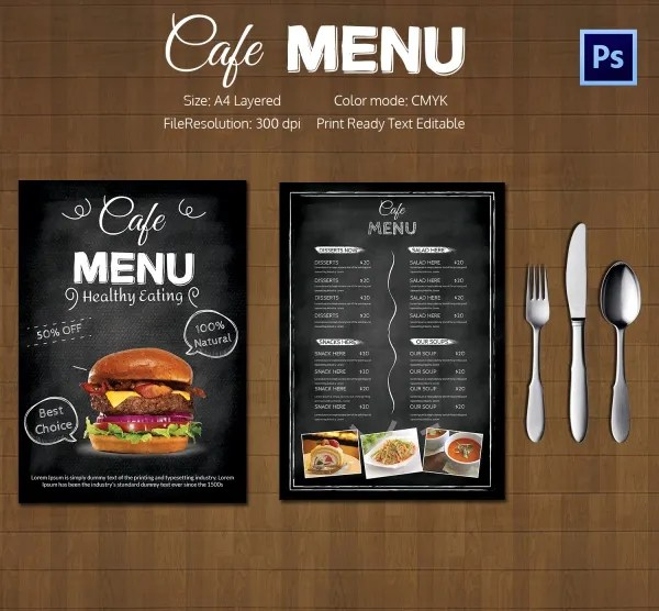 Cafe Menu Template Restaurant Cafe TakeOut Menu Template High - menu templates free microsoft