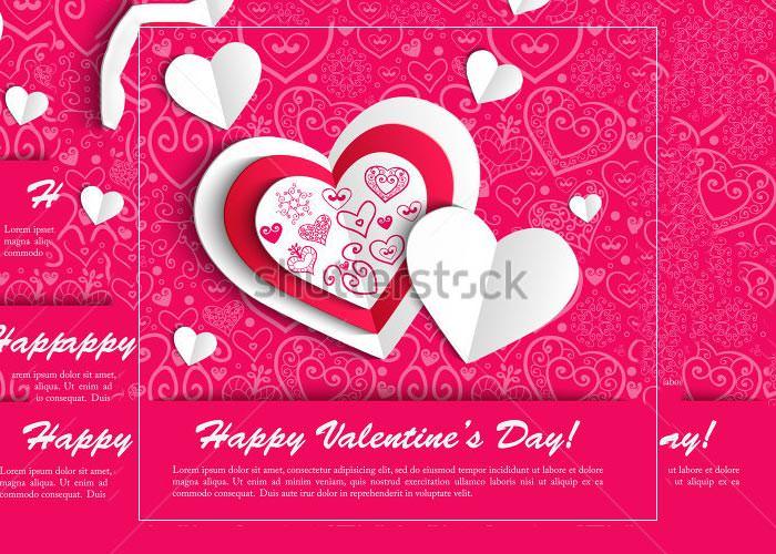 60+ Happy Valentines Day Cards PSD Designs Free  Premium Templates
