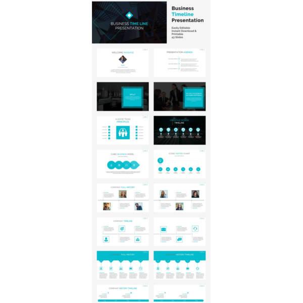 20+ Timeline Powerpoint Templates Free  Premium Templates