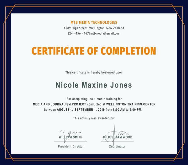 82+ Free Printable Certificate Template - Examples in PDF, Word