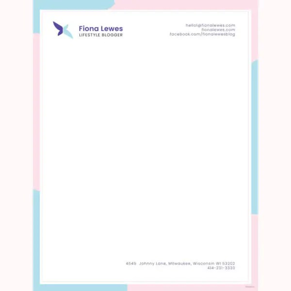 32+ Professional Letterhead Templates - Free Sample, Example Format - letterhead sample