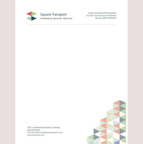 32+ Professional Letterhead Templates - Free Sample, Example Format