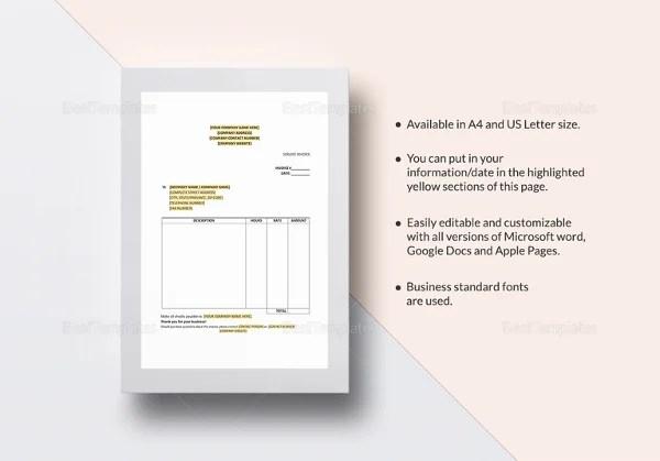 Service Invoice Templates \u2013 11+ Free Word, Excel, PDF Format - free service invoice template download