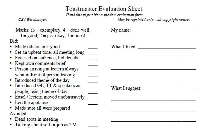 ... Speaker Evaluation Form Doc 600650 Sample Presentation Evaluation   Speaker  Evaluation Form ...