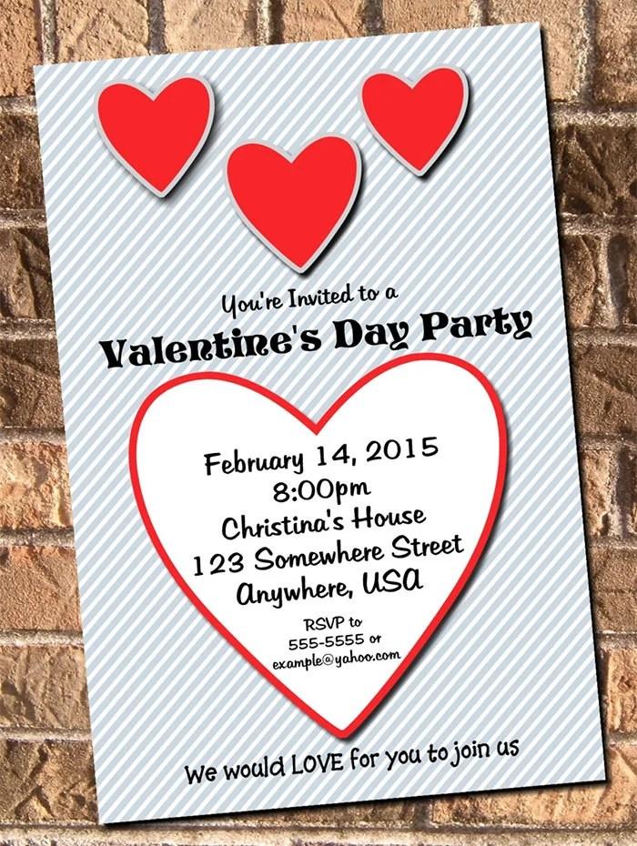22+ Best Valentine Invitation Templates - PSD, AI Free  Premium