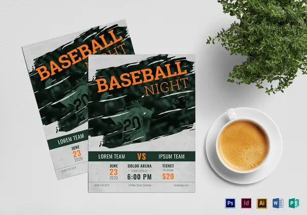 Sports Flyer Template - 33+ Free PSD, AI, Vector EPS Format Download