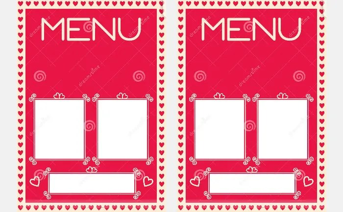 41+ Valentines Menu Templates - Free PSD, EPS Format Download Free