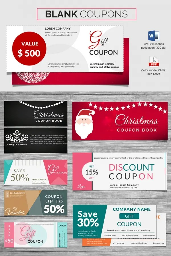 Discount coupons template psd  Coupon codes for light in the box - discount voucher design
