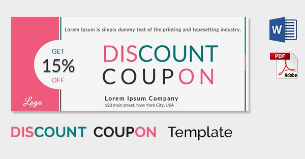 Blank Coupon Templates u2013 26+ Free PSD, Word, EPS, JPEG Format - food voucher template