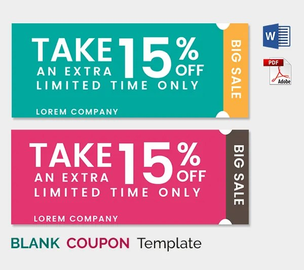 Coupon format for word - Nike discount coupons - coupon templates for word