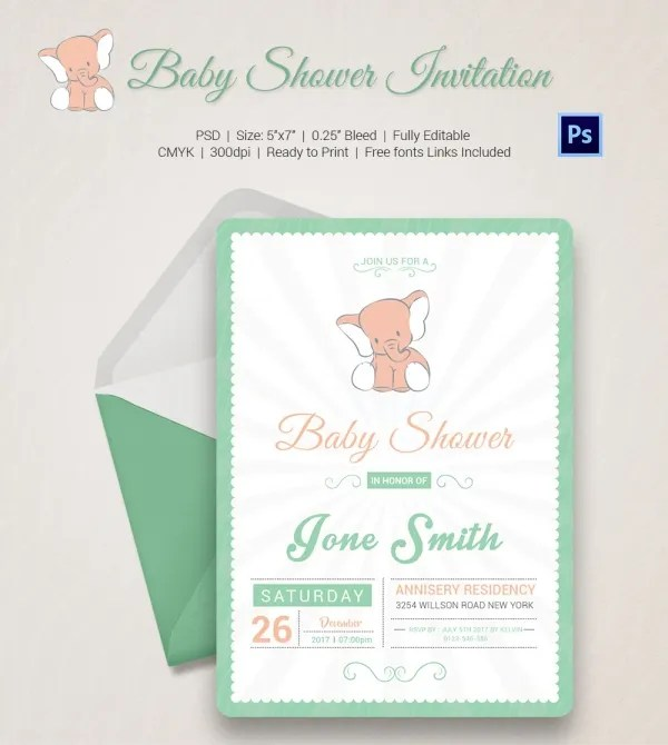 Baby Shower Invitation Templates u2013 gangcraftnet - baby shower invitations for word templates