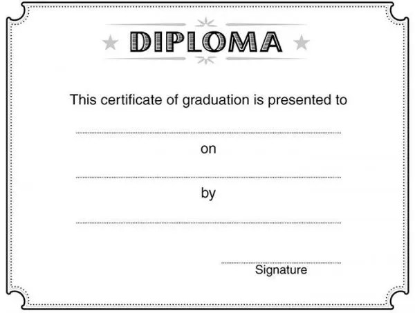 82+ Free Printable Certificate Template - Examples in PDF, Word - graduation certificate template free