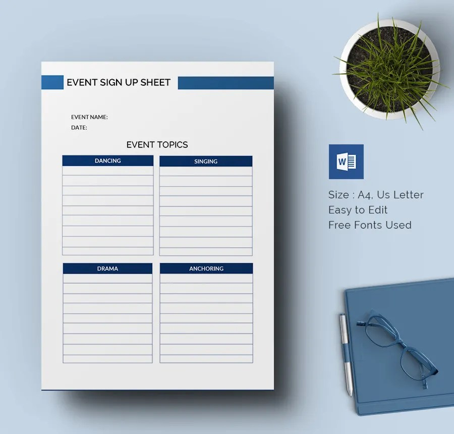 sign up sheet template - fototango - club sign up sheet template
