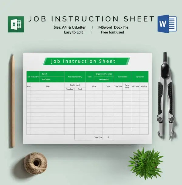 sample job cards templates - Intoanysearch