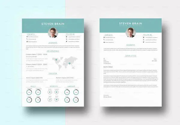 20+ Accounting Resume Templates - PDF, DOC Free  Premium Templates