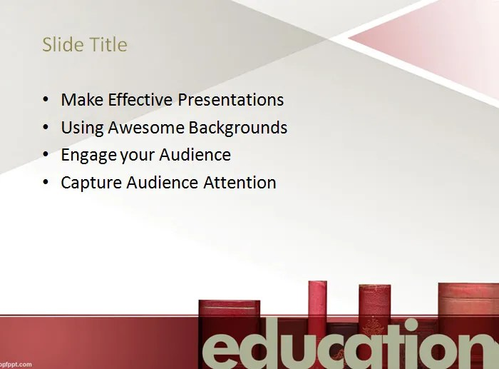 20 Sample Education PowerPoint Templates Free  Premium Templates