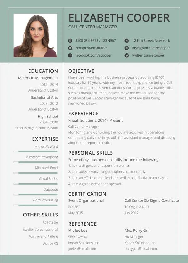 apple pages cv