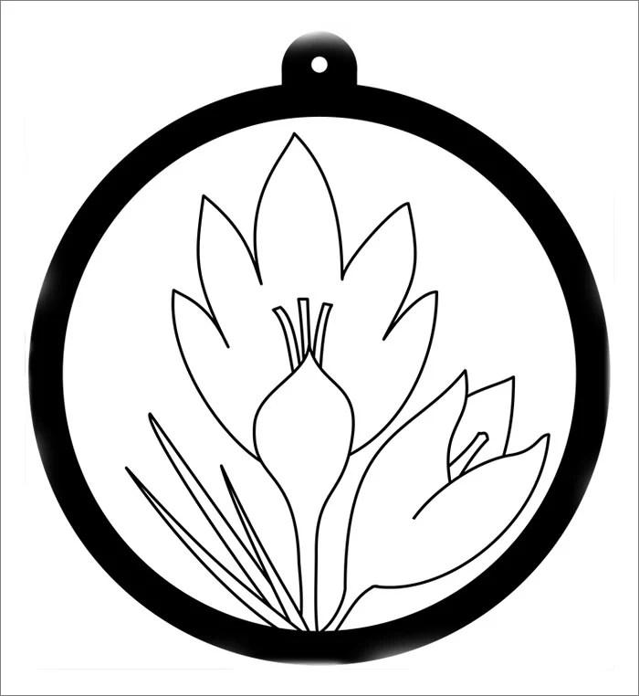 blank flower template - Minimfagency - flower template