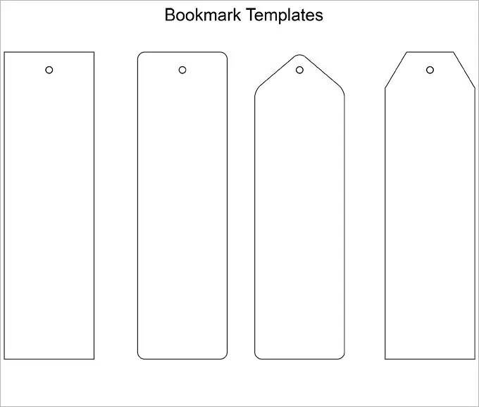 Blank Bookmark Template - 135+ Free PSD, AI, EPS, Word, PDF Format
