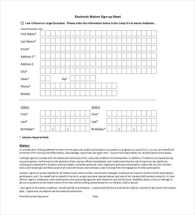 Sign Up Sheets - 58+ Free Word, Excel, PDF Documents Download Free