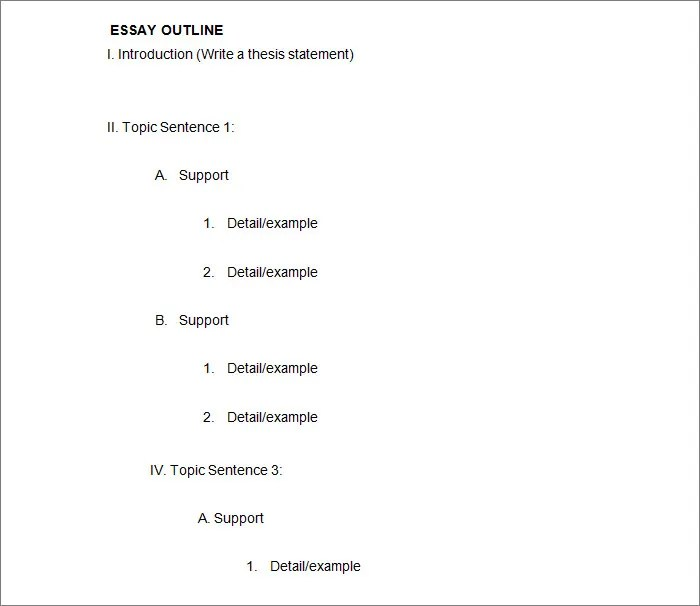 21+ Outline Templates - PDF, DOC Free  Premium Templates - outline template