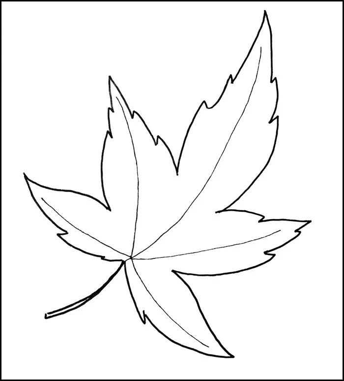 Leaf Template Printable Leaf Templates Free  Premium Templates