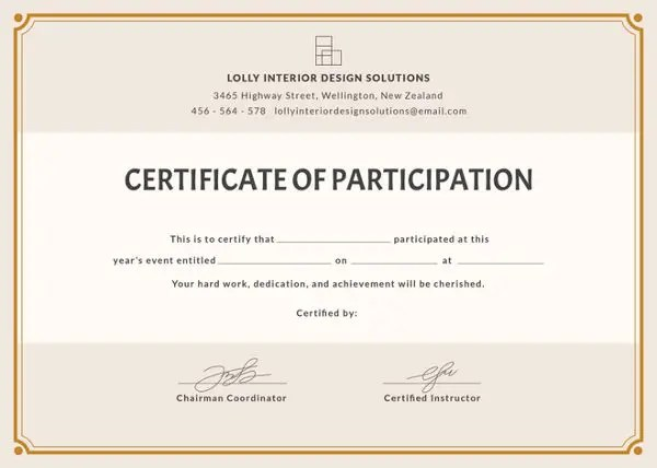 36+ Blank Certificate Template - Free PSD, Vector EPS, AI, Format - Blank Award Templates